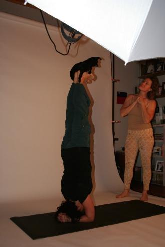 Last year's photo shoot at Elen's