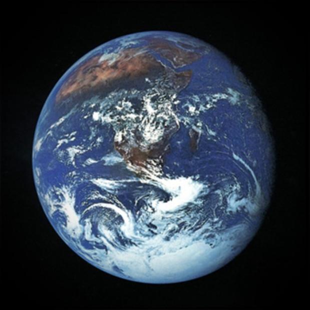 Earth as seen from Apollo 17 December 1972